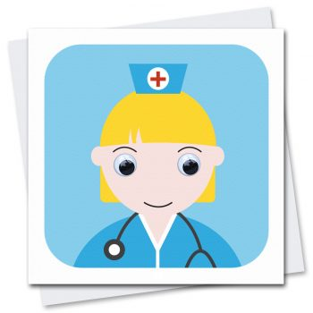 713 Nurse-NHS-Thinking-Of-You-Card