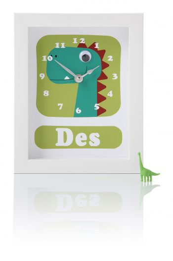 stripey-cts-personalised-childrens-dinosaur-clock