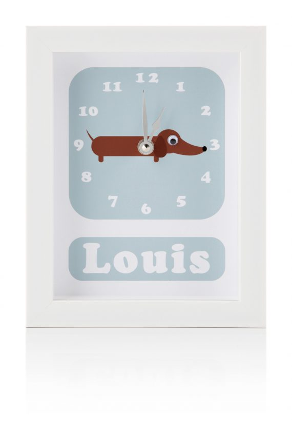 Personalised-Children's-Dog-Clock