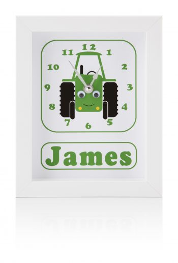 stripey-cats-personalised-transport-clock-tractor