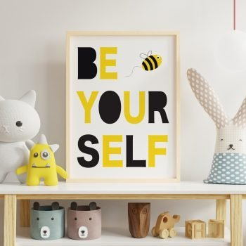 Be-Yourself-Print-by-Stripey-Cats