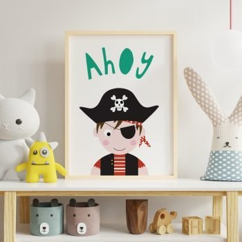 Pirate-Print-Childs-room-boy