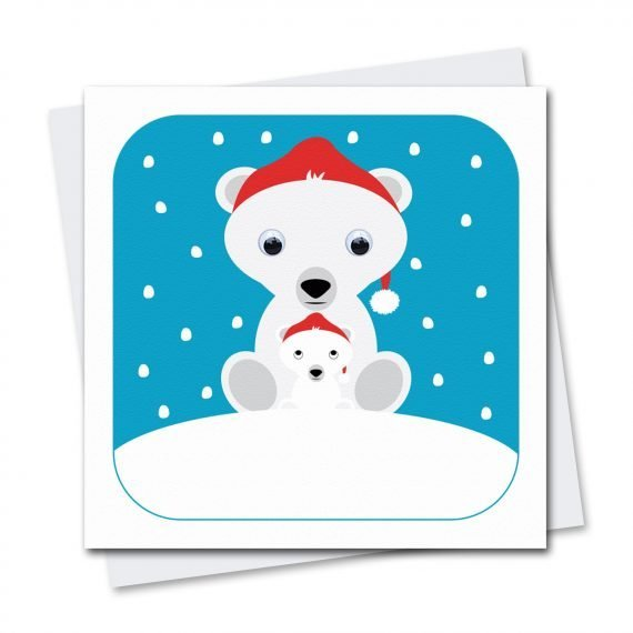 stripey-cats-polar-bear-christmas-card