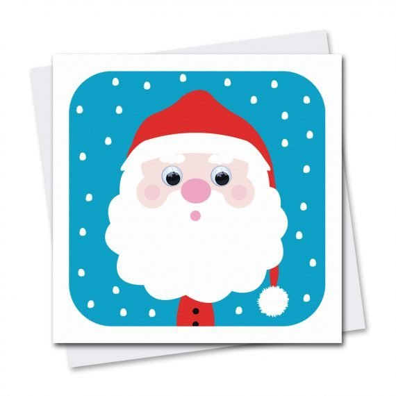 506-Father-Christmas-wobbly-eyed-Christmas-Card-by-Stripey-Cats