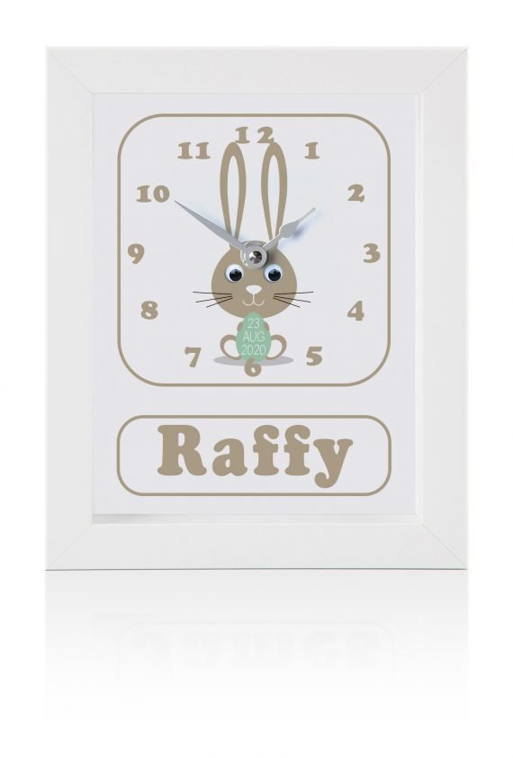 Personalised-Bunny-Children's-Clock
