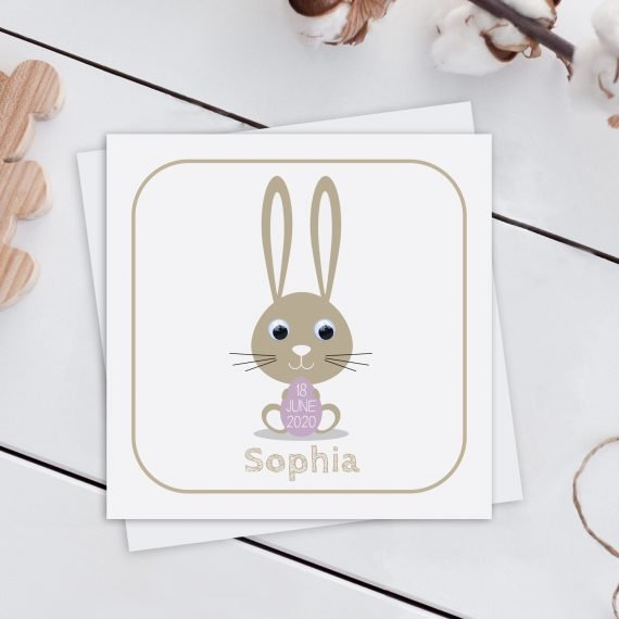 Personalised-New-Baby-Card-Bunny-Rabbit