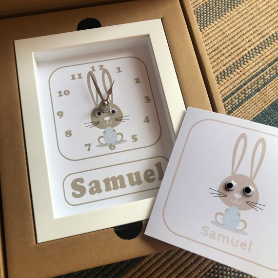 Personalised-New-baby-Clock-&-Card