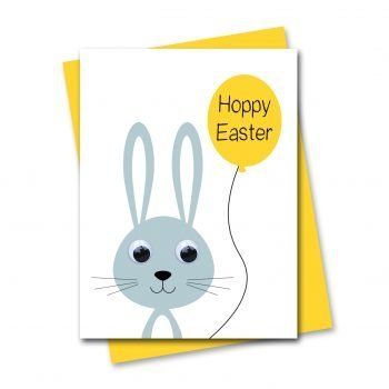 stripey-cats-hoppy-easter-bunny-rabbit-card