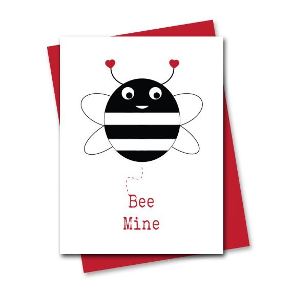 659-Bee-Mine-Valentines-Card-by-Stripey-Cats