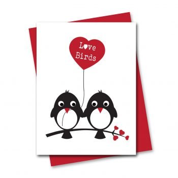 lovebirds-valentines-card-cute-valentines-card-bird-valentines-card-anniversary card