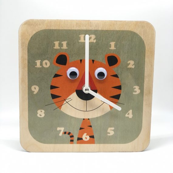 Tiger-Wooden-Clock-by-Stripey-Cats