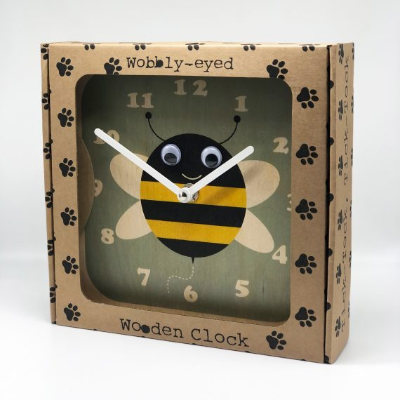 Wobbly-eyed-Bee-Clock-in-Box-by-Stripey-Cats