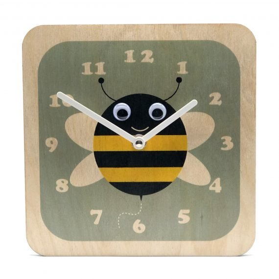 Wobbly-eyed-Wooden-Bee-Clock-by-Stripey-Cats