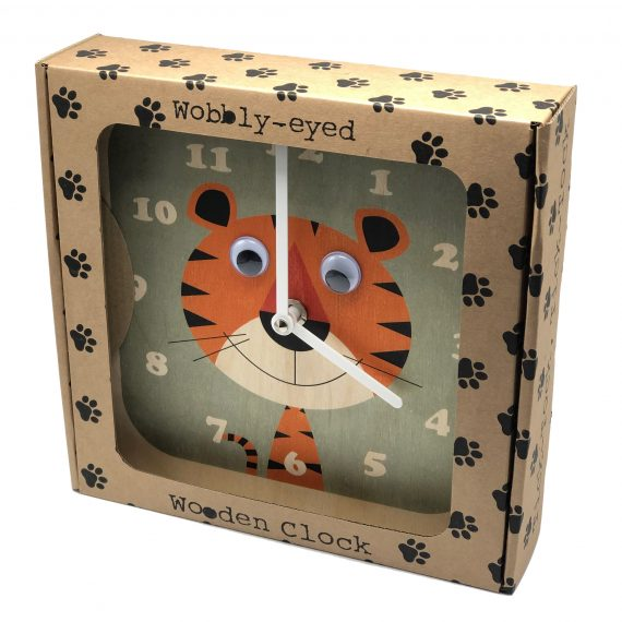 Wobbly-eyed-Wooden-Tiger-Clock-in-gift-box-by-Stripey-Cats