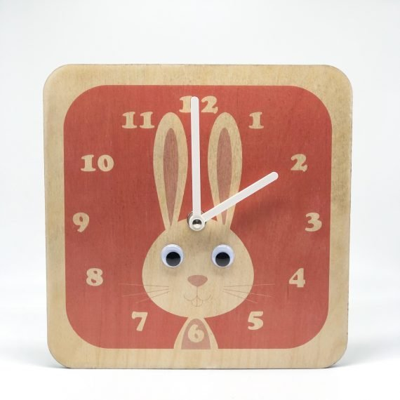 Wooden-Wobbly-eyed-rabbit-Clock-by-Stripey-Cats