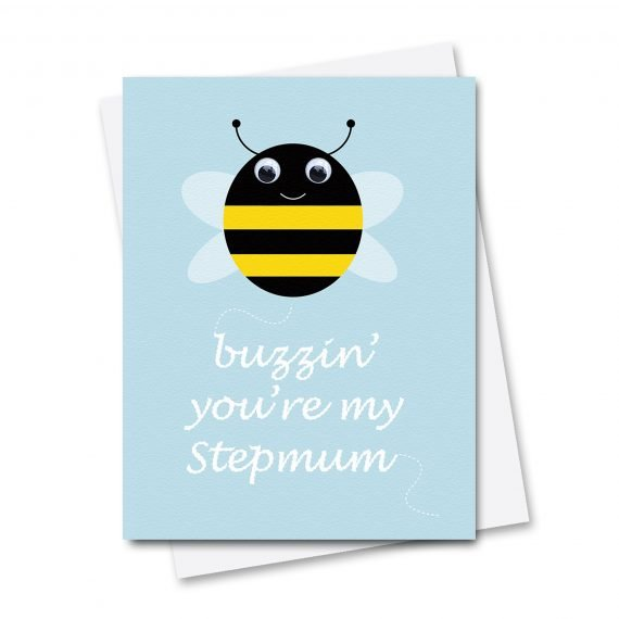 644-Buzzin-Stepmum-Mothers-day-Card-by-Stripey-Cats