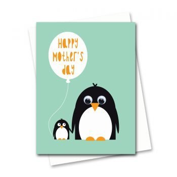 664-Happy-Mothers-day-Card-Penguin