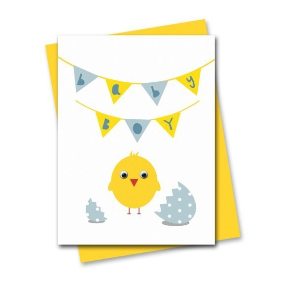 Stripey-Cats-812-New-Baby-Boy-Chick-Card