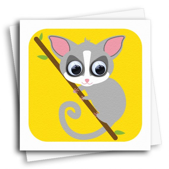 Bush-Baby-Card-by-stripey-Cats