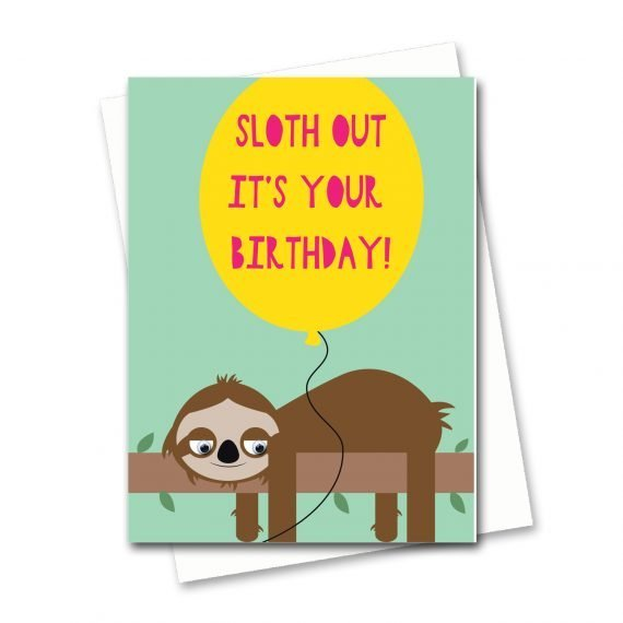 824-Sloth-Out-Birthday-Card